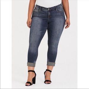 Torrid premium boyfriend jeans size 22R